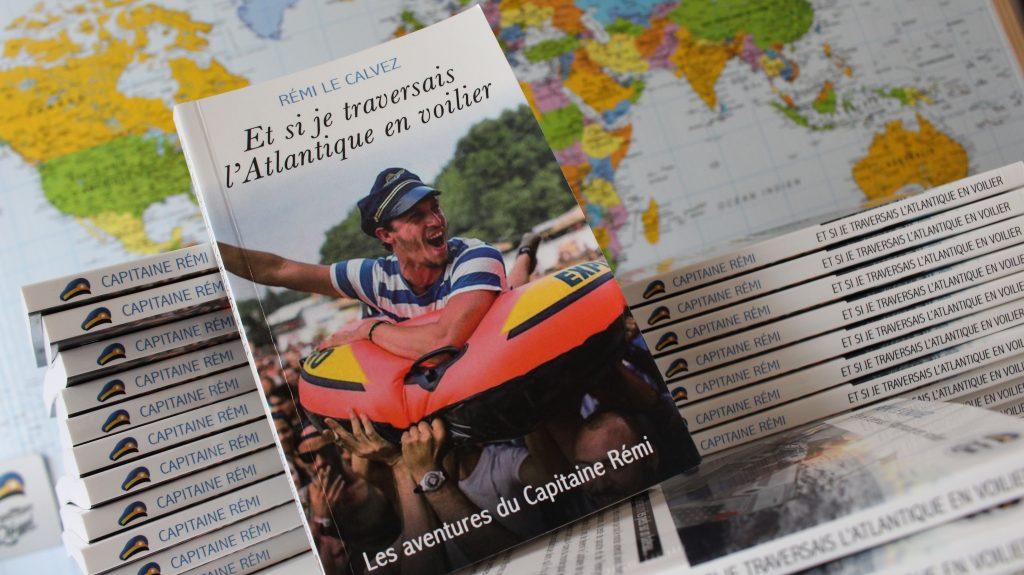Livre Traversée Atlantique en voilier