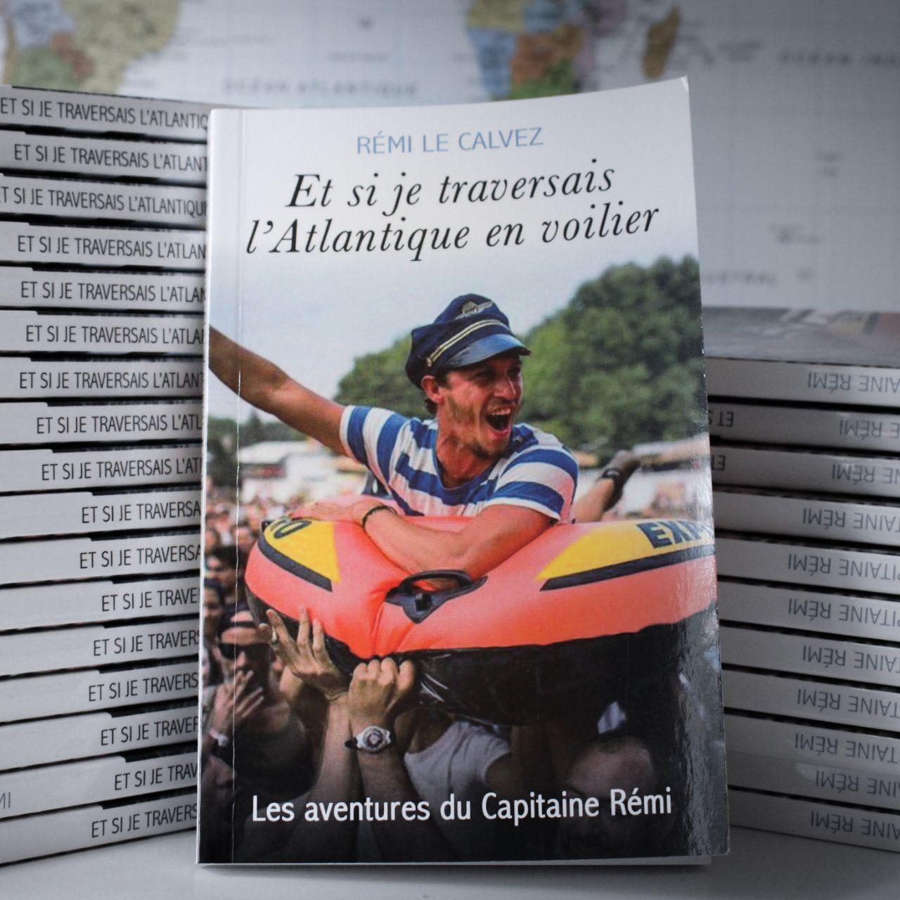 """Livre """"Et si je traversais l'Atlantique en voilier"""""""